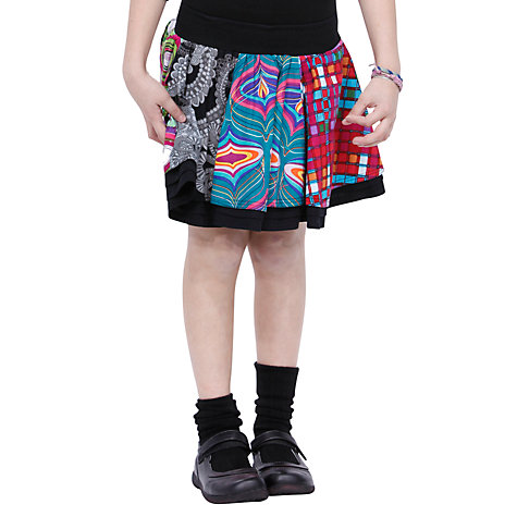 Buy Desigual Belinda Skirt, Black Online at johnlewis.com
