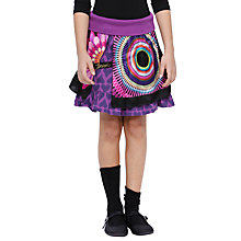 Buy Desigual Catalina Skirt, Purple Online at johnlewis.com