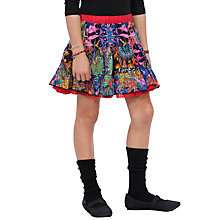 Buy Desigual Cristin Skirt, Black Online at johnlewis.com