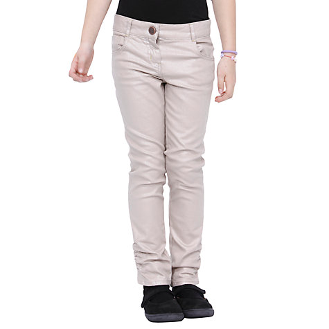 Buy Desigual Traquea Trousers, Pale Pink Online at johnlewis.com