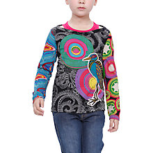 Buy Desigual Bolivia T-Shirt, Black Online at johnlewis.com