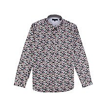 Buy Ted Baker Barbela Floral Print Long Sleeve Shirt, Multi Online at johnlewis.com