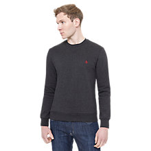 Buy Original Penguin Crew Neck Jumper, Grey Online at johnlewis.com