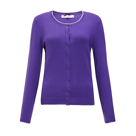 Buy COLLECTION by John Lewis Alicia Cardigan, Purple/Lotus Online at johnlewis.com