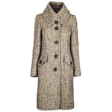 Buy James Lakeland Collar Coat, Beige Online at johnlewis.com