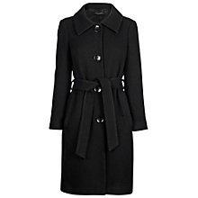 Buy James Lakeland Triple Belted Coat, Black Online at johnlewis.com