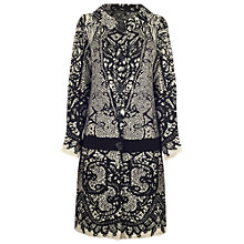 Buy James Lakeland Jacquard Coat, Black/Beige Online at johnlewis.com