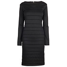 Buy James Lakeland Piping Pleat Detail Dress, Black Online at johnlewis.com