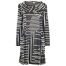 Buy James Lakeland Geometric Print Dress, Grey Online at johnlewis.com