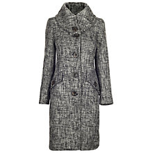 Buy James Lakeland Textured Coat, Grey Online at johnlewis.com