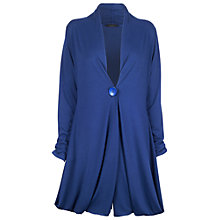 Buy James Lakeland Long Jersey Cardigan, Royal Blue Online at johnlewis.com