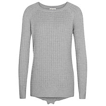 Buy Reiss Dolly Waffle Textured Jumper, Seafoam Green Online at johnlewis.com