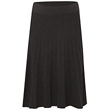 Buy White Stuff High Tide Pleat Skirt, Anchor Blue Online at johnlewis.com