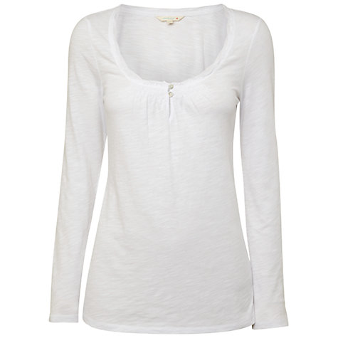 Buy White Stuff Long Sleeve Plage T-Shirt Online at johnlewis.com