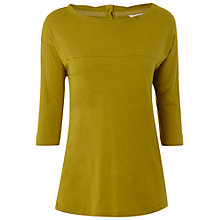 Buy White Stuff Dove Top, Yellow Sponge Online at johnlewis.com