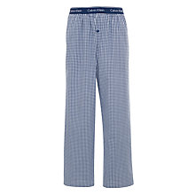 Buy Calvin Klein Underwear Traditional Check Lounge Pants Online at johnlewis.com