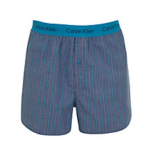 Buy Calvin Klein Underwear Woven Stripe Boxers Online at johnlewis.com