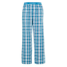 Buy Calvin Klein Woven Traditional Check Lounge Pants Online at johnlewis.com
