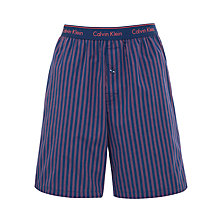 Buy Calvin Klein Traditional Stripe Lounge Shorts Online at johnlewis.com