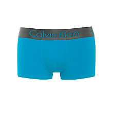 Buy Calvin Klein Underwear Gunmetal Micro Low Rise Trunks Online at johnlewis.com