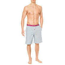 Buy Calvin Klein Check Lounge Shorts Online at johnlewis.com