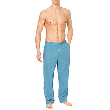 Buy Calvin Klein Woven Traditional Stripe Lounge Pants Online at johnlewis.com