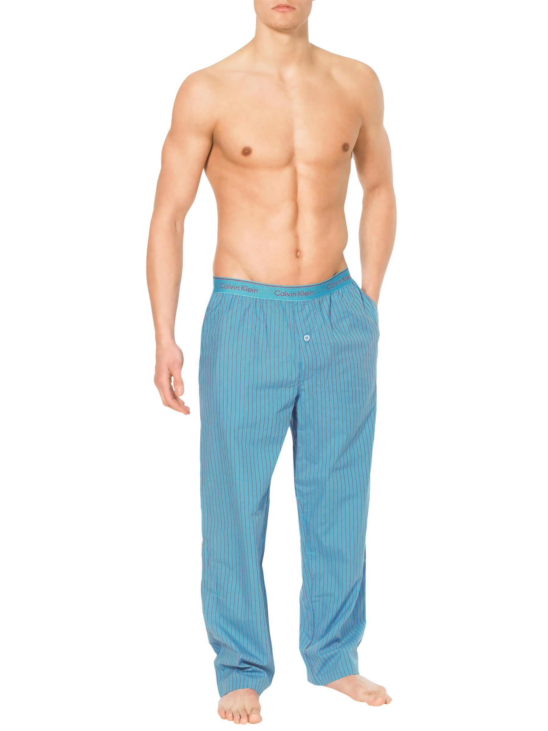 Calvin Klein Woven Traditional Stripe Lounge Pants