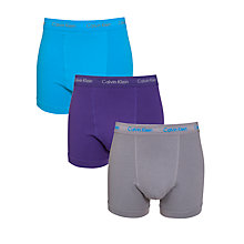 Buy Calvin Klein Underwear Cotton Stretch Trunks, Pack of 3 Online at johnlewis.com