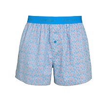 Buy Calvin Klein Woven Slim Fit Boxer Shorts Online at johnlewis.com