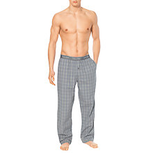Buy Calvin Klein Traditional Woven Langley Plaid Pyjama Pants Online at johnlewis.com