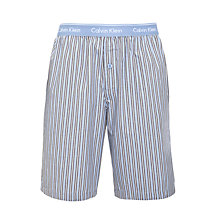 Buy Calvin Klein Stripe Lounge Shorts, Multi Online at johnlewis.com