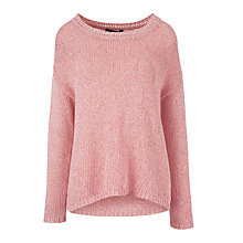 Buy Weekend by MaxMara Alamaro Chunky Knit, Coral Online at johnlewis.com