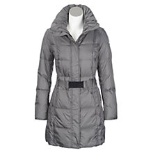 Buy Geox Padded Long Belted Coat Online at johnlewis.com