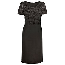 Buy James Lakeland Front Rose Dress, Black Online at johnlewis.com