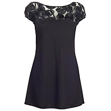 Buy James Lakeland Rose Shoulder Top, Black Online at johnlewis.com