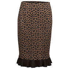 Buy James Lakeland Spotted Skirt, Taupe Online at johnlewis.com