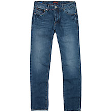 Buy Ted Baker Nystee Straight Tapered Jeans, Stone Wash Online at johnlewis.com