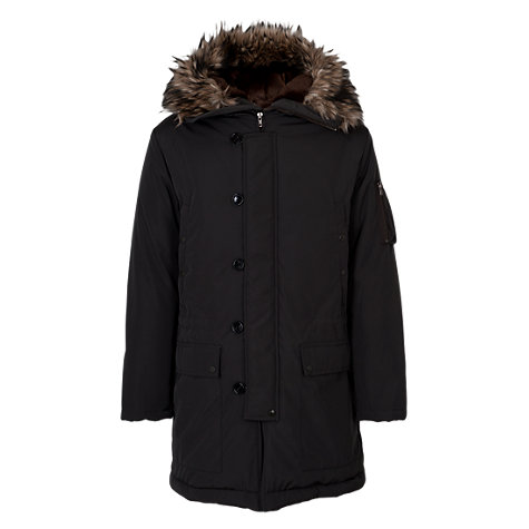Buy French Connection Bullet Hooded Coat Online at johnlewis.com