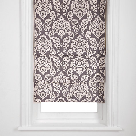 Buy John Lewis Apsley Damask Roman Blind Online at johnlewis.com