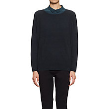 Buy Whistles Agatha Cashmere Jumper, Green Online at johnlewis.com