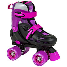 Buy SFR Racing Storm Roller Skates, Black/Purple Online at johnlewis.com