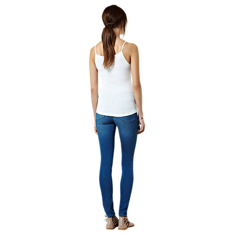 Buy Warehouse Basic Cami Top, White Online at johnlewis.com
