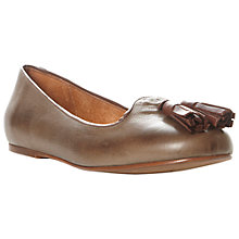 Buy Bertie Laffy Leather Tasseled Ballerina Pumps Online at johnlewis.com