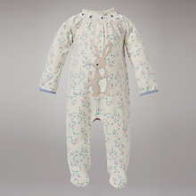Buy Belle & Boo Snuffley Elephant and Boo Jersey All In One, Cream Online at johnlewis.com