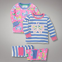 Buy John Lewis Butterfly Pyjamas, Pack of 2 Online at johnlewis.com