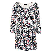 Buy Weekend by MaxMara Avocado Floral Print Tunic Dress Online at johnlewis.com