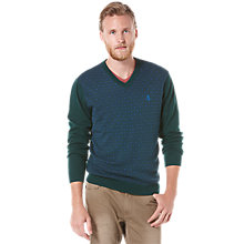 Buy Original Penguin V-Neck Jumper, Navy Online at johnlewis.com