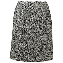 Buy Phase Eight Ria Tweed Skirt, Black/White Online at johnlewis.com
