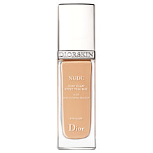 Buy Dior Diorskin Nude Natural Glow Radiant Foundation SPF15 Online at johnlewis.com