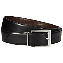 Buy Reiss Dart Belt, Black Online at johnlewis.com